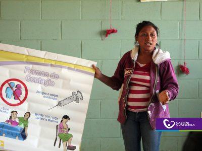MATERNO INFANTIL: CONCIENTIZAN SOBRE VIH/SIDA