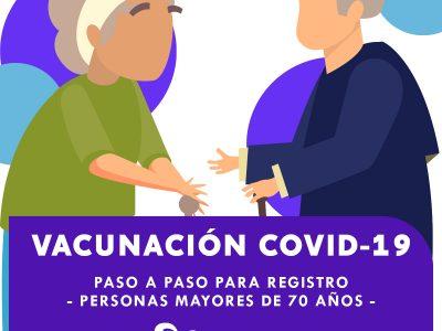 PROCEDIMIENTO DE REGISTRO PARA VACUNA CONTRA COVID-19