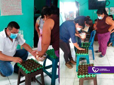MINISTERIO DE AGRICULTURA Y CABRINI GUATEMALA UNIFICAN ACCIONES